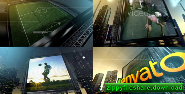 VideoHive Soccer City After Effects Template - Zippy Fileshare Download