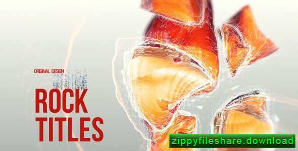 Videohive Rock Titles